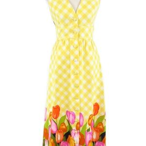 Elfriede for Twiggs vintage maxi dress 8